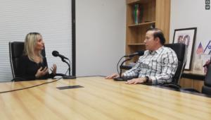 Adam Milstein interviewing Sharon Farber